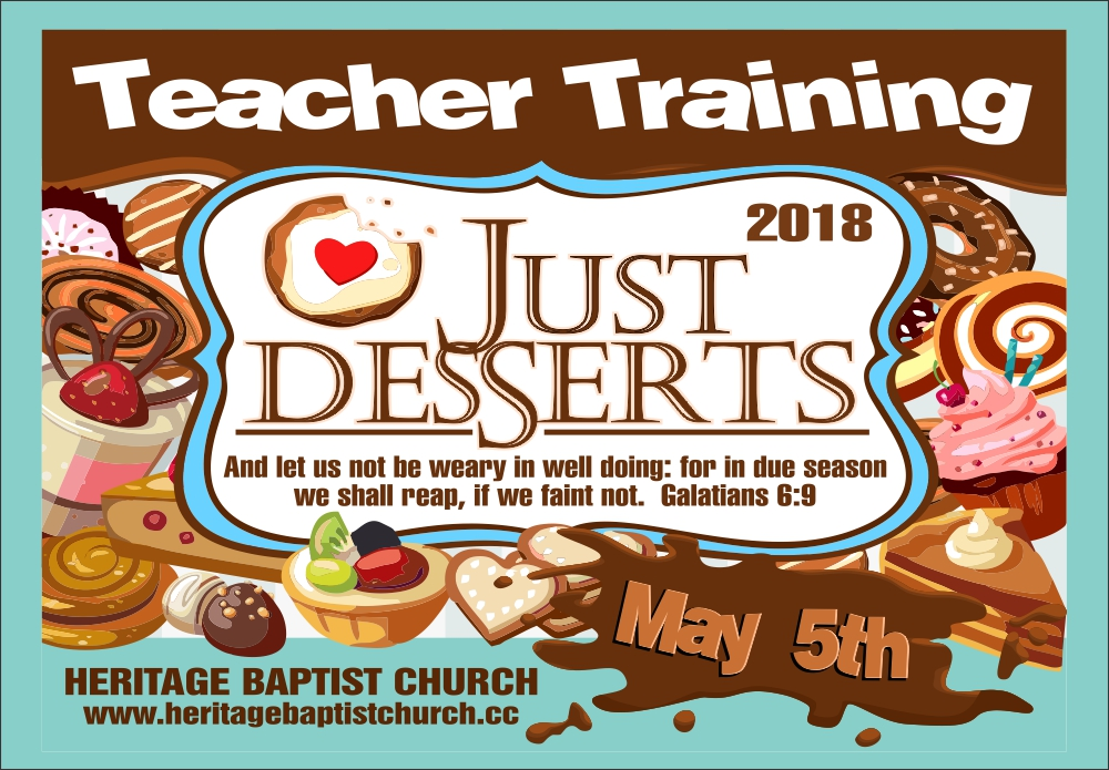 Teacher Training 2018 - flyer