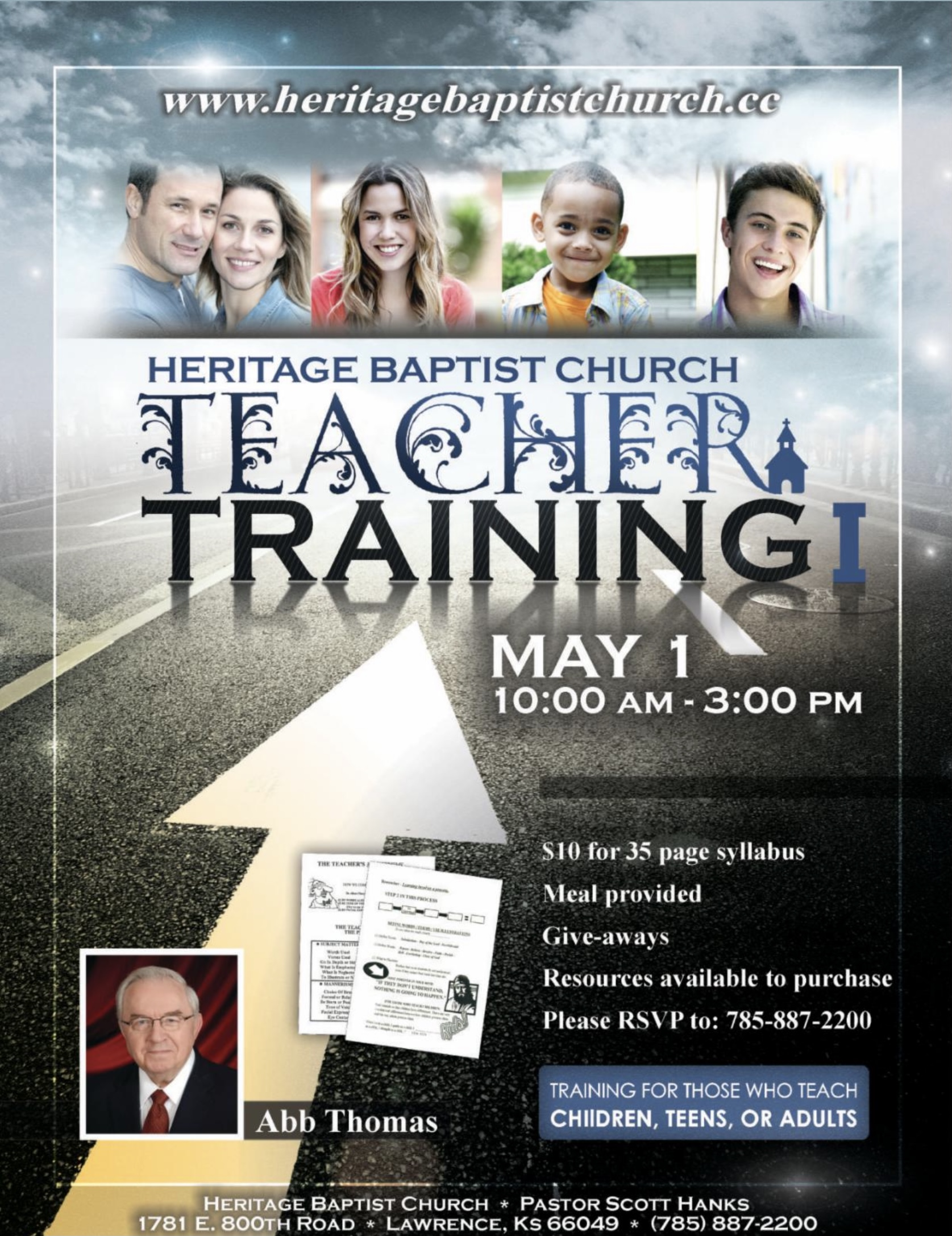 2021 Teacher Training Flier